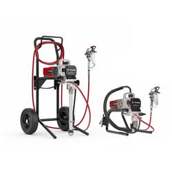 Overview of the Titan Impact 410 Electric Paint Sprayer Skid and High Rider