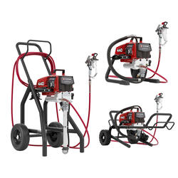 Overview of the Titan Impact 440 Electric Paint Sprayer Skid, Low Rider and High Rider